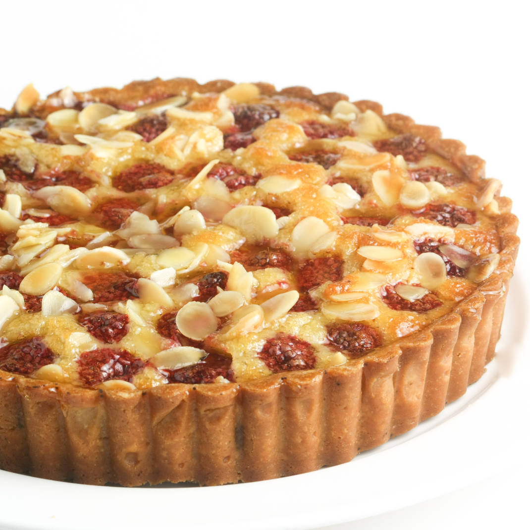 Small Frangipane: Mixed Fruit (Pear, Raspberry & Apricot)