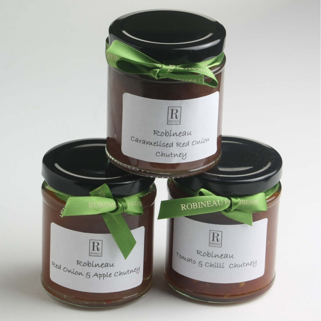 Robineau Chutney: Red Onion and Apple