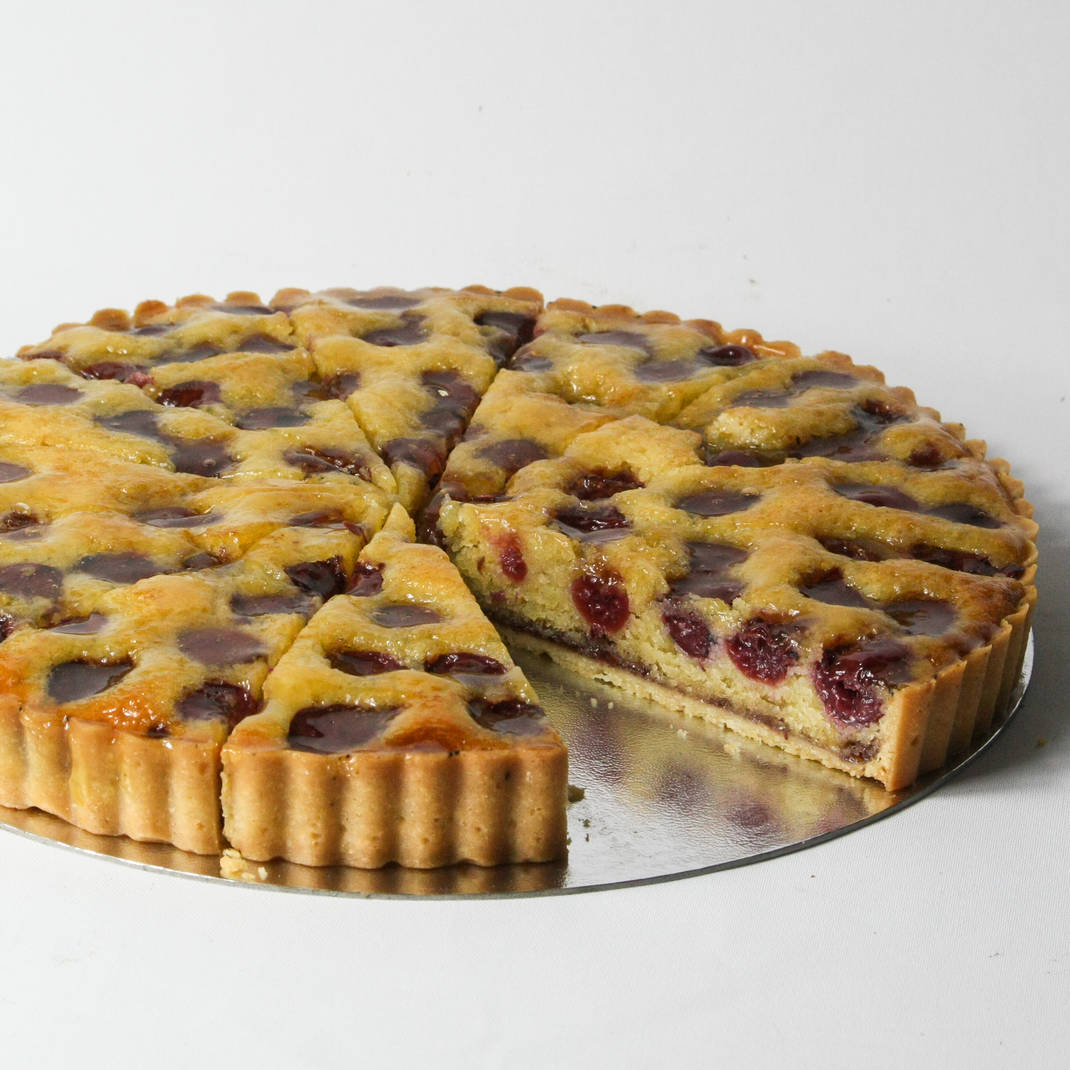 Cherry and Almond Frangipane
