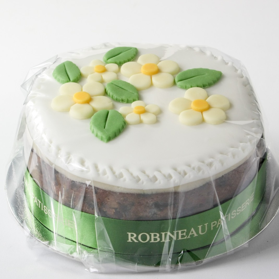 Robineau Iced Flower Fruitcake