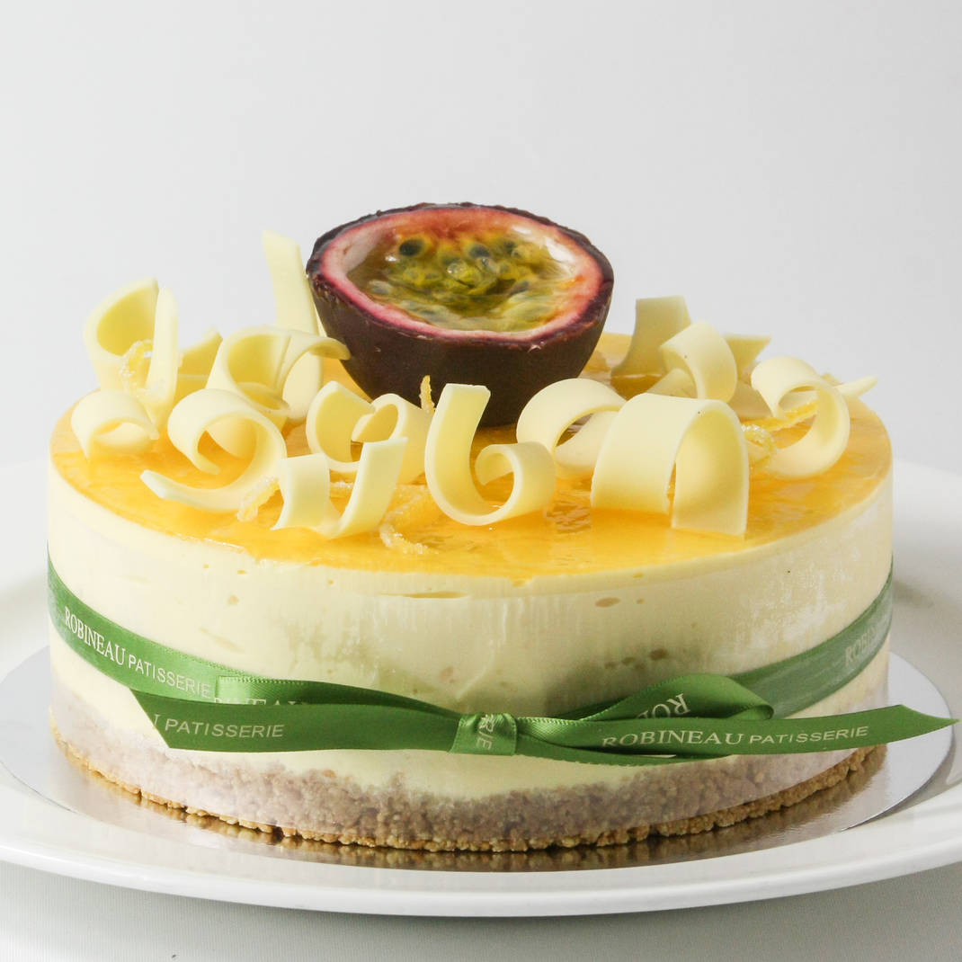 Lemon and Passion Fruit Cheesecake