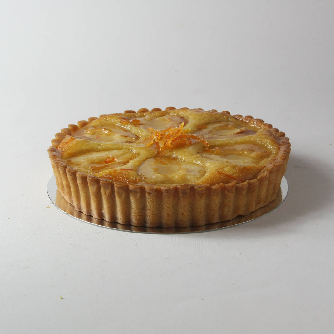 Orange and Cardamon Frangipane