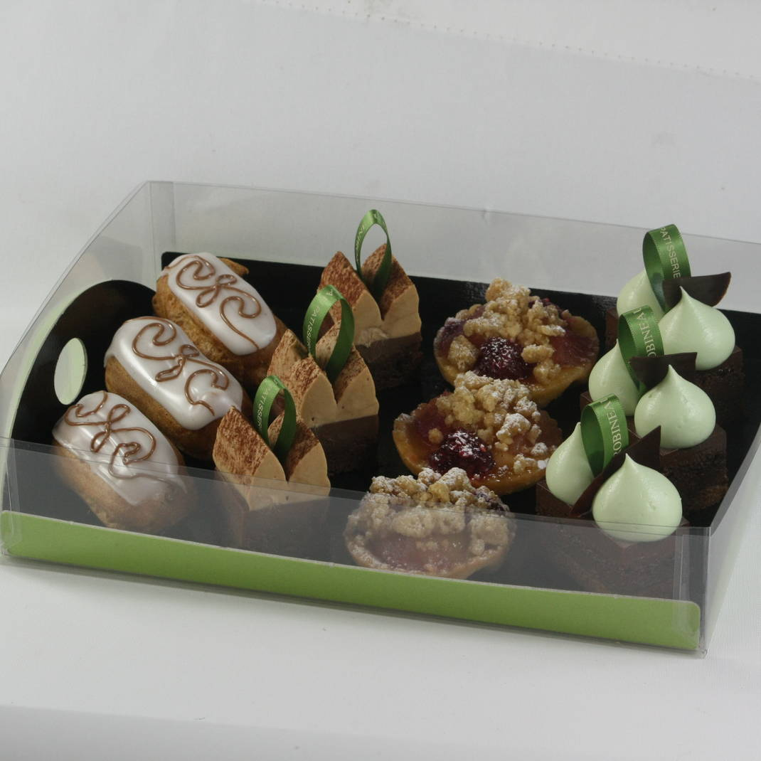 12 Mini French Patisserie Tray