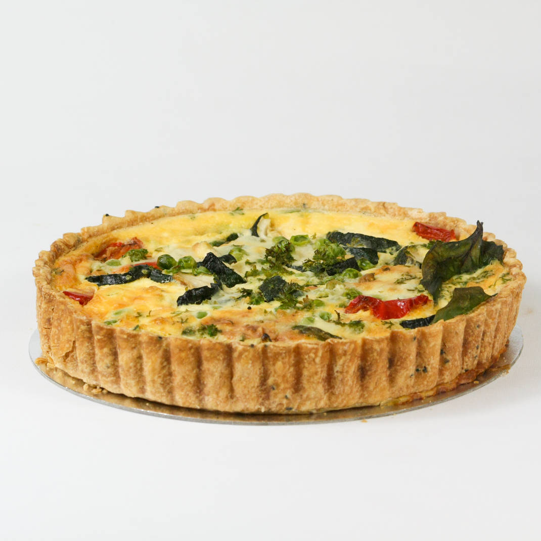 Summer Vegetable Quiche