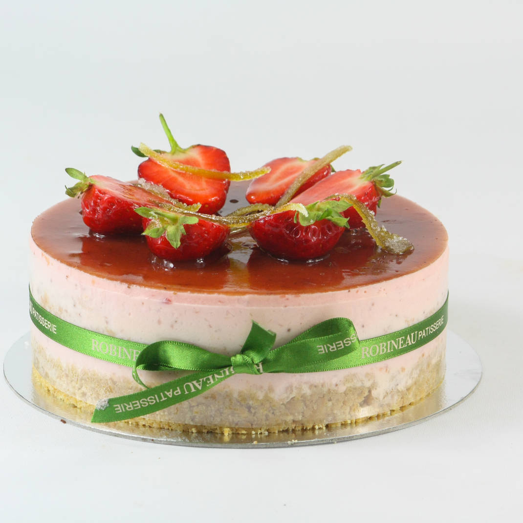 Strawberry & Lime Cheesecake