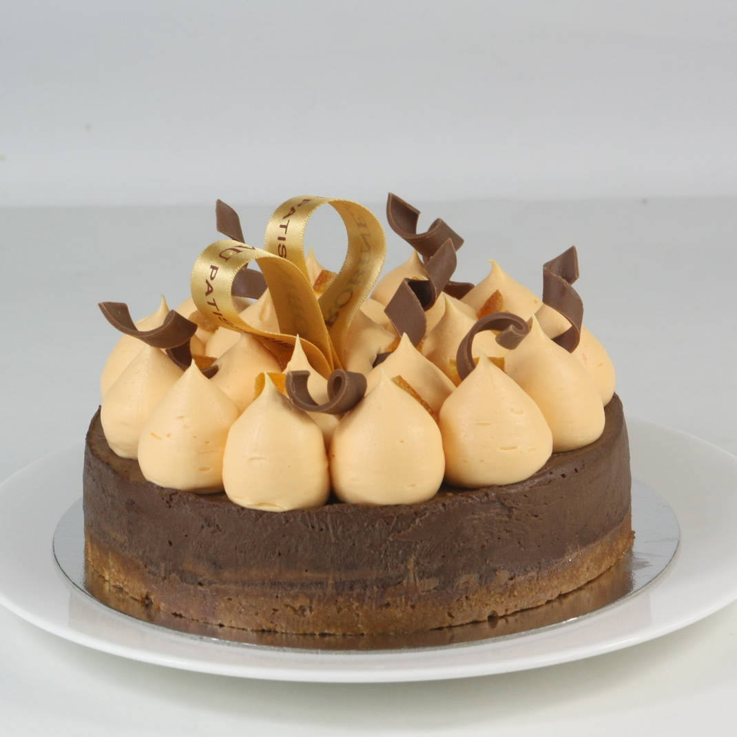 Praline Tort with Orange