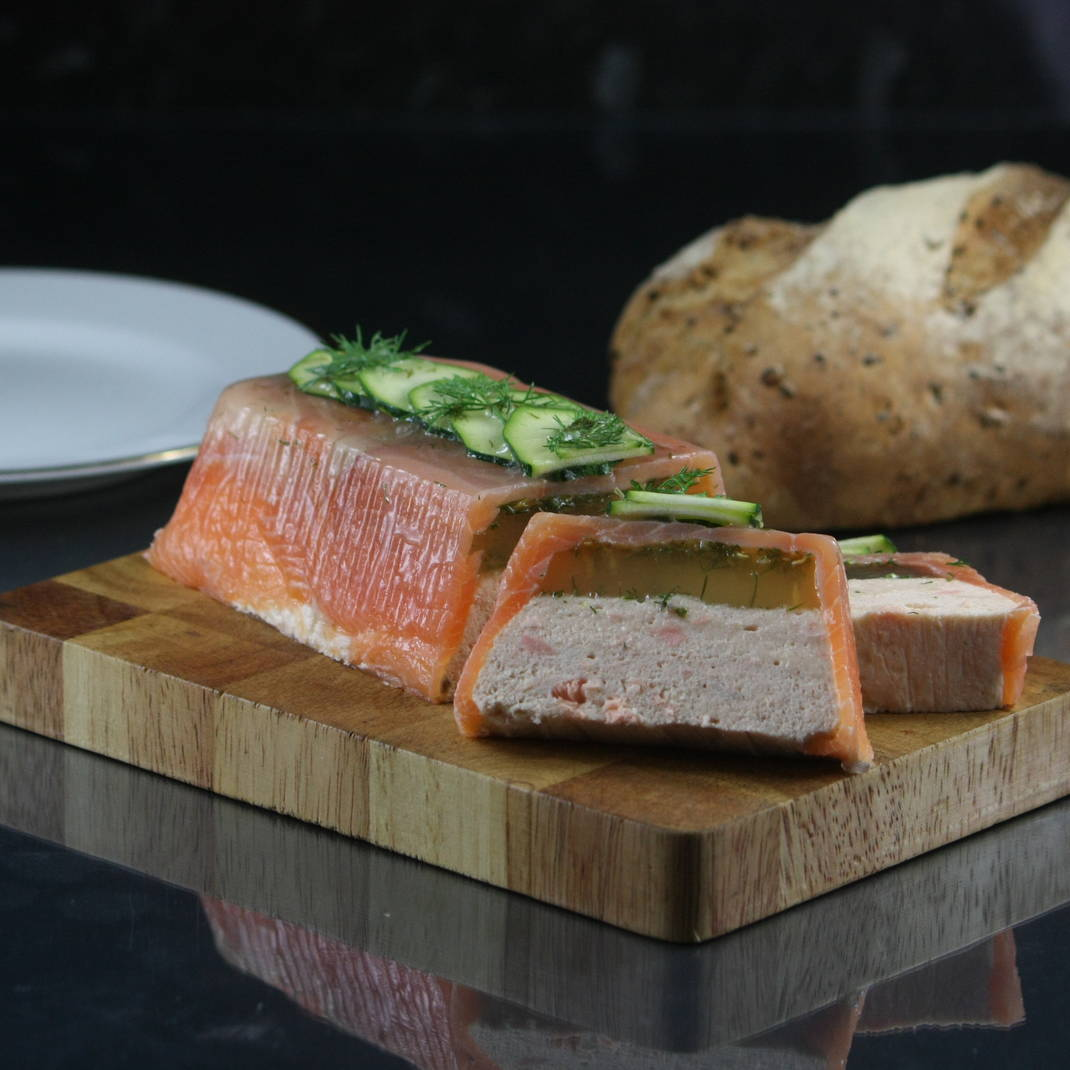 Hot Smoked Salmon Terrine