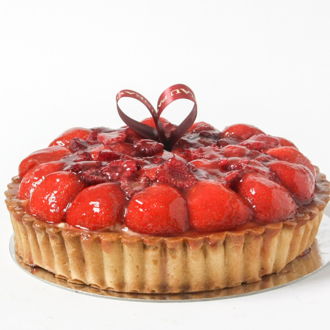 "6"" Raspberry and Strawberry Tart"