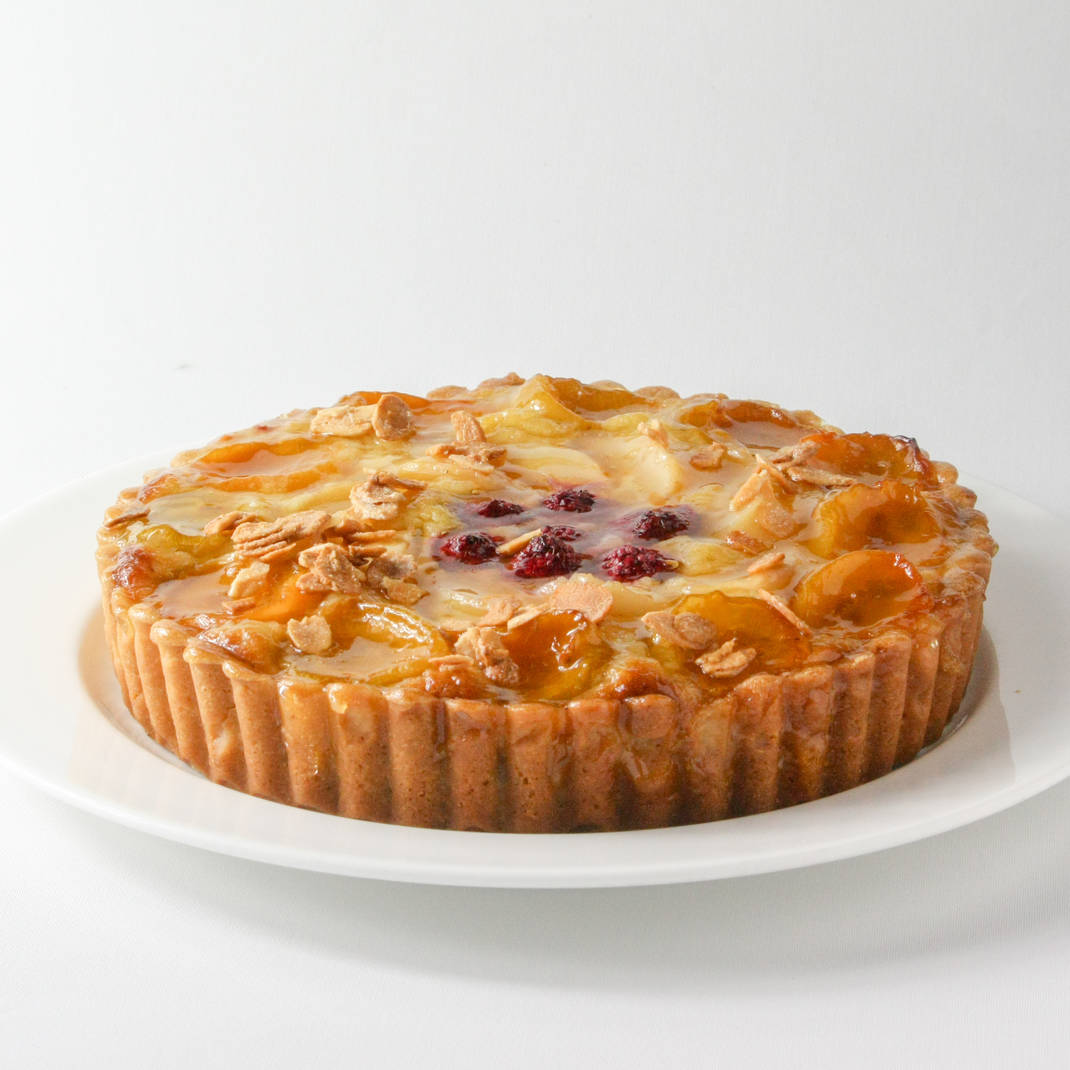 Small Frangipane: Raspberry and Apricot