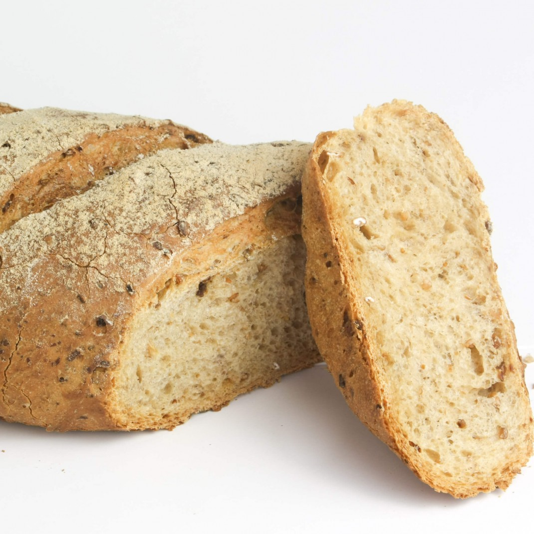 Bread: Malted Grain Loaf