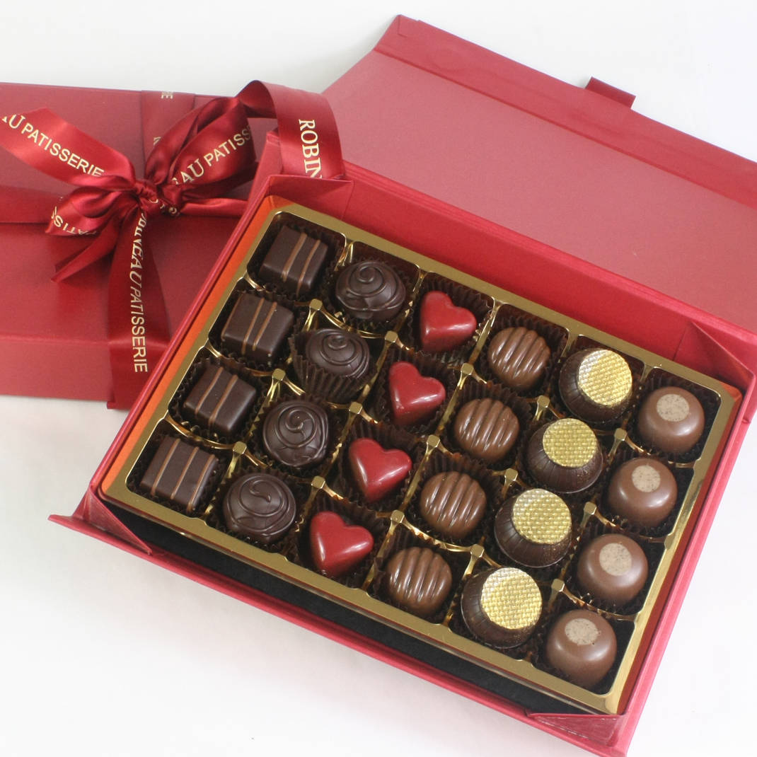 24 Valentines Chocolates