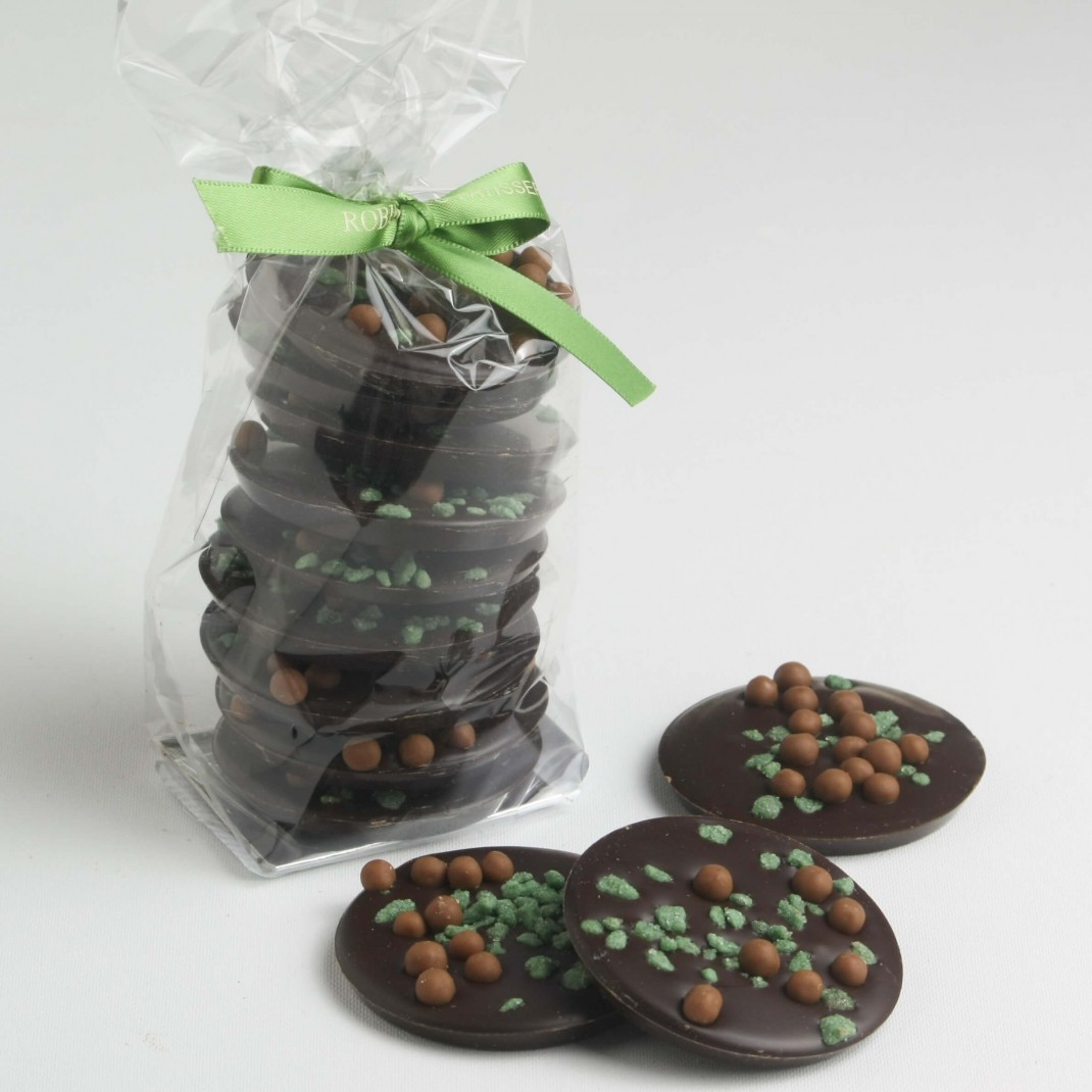 Bag: Dark Chocolate Mint Discs