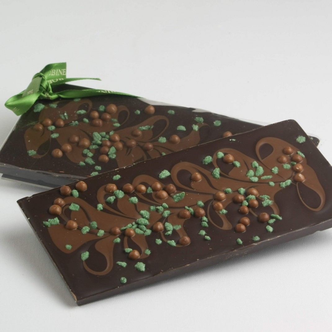 Bar: Dark and Milk Chocolate Mint