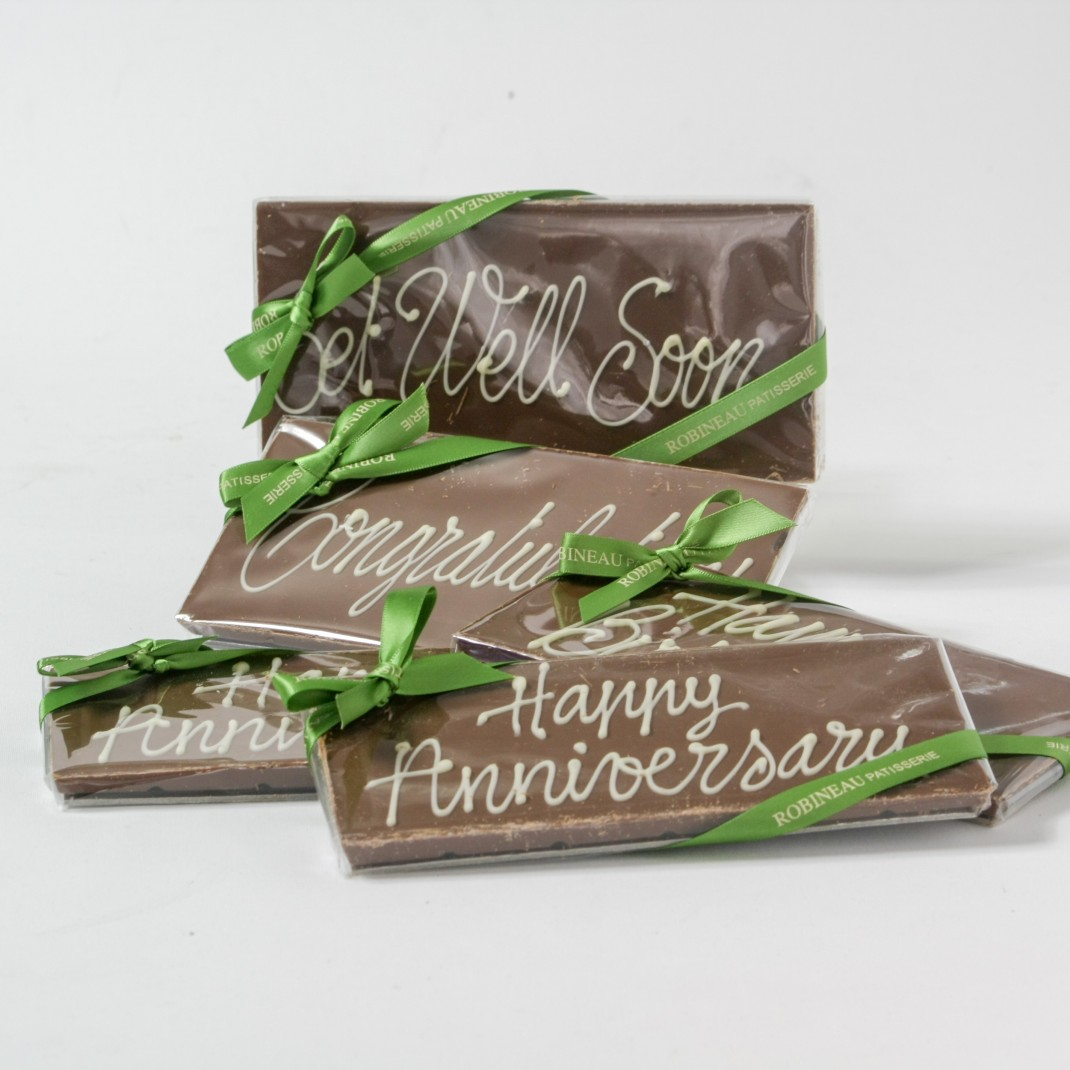 Bar: Milk Chocolate Celebration 'Get Well Soon'